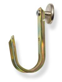 Mayer-2 inch J Hook Magnet on Side-1