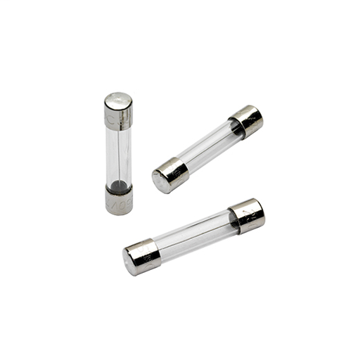 """Fuse GGC - Fast-Acting 250V 2.5A 6x32mm, 1/4"""" X 1-1/4"""" Glass"""