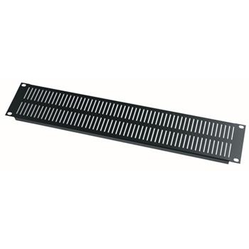 Vent Panel, 2 RU, Steel, 12 pc. Contractor Pack