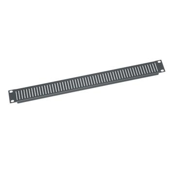 Vent Panel, 1 RU, Steel, 12 pc. Contractor Pack