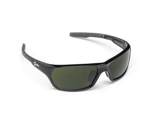 Safety Glasses, Slag, Black, #5