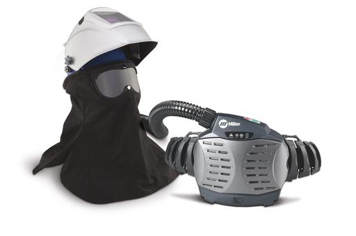 PAPR with Hard Hat & Titanium 9400 Helmet