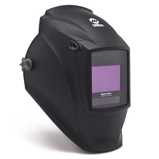 Miller Digital Elite Black Welding Helmet With Variable Shades 3, 5 - 13 Clearlight Lens Technology Auto Darkening Lens