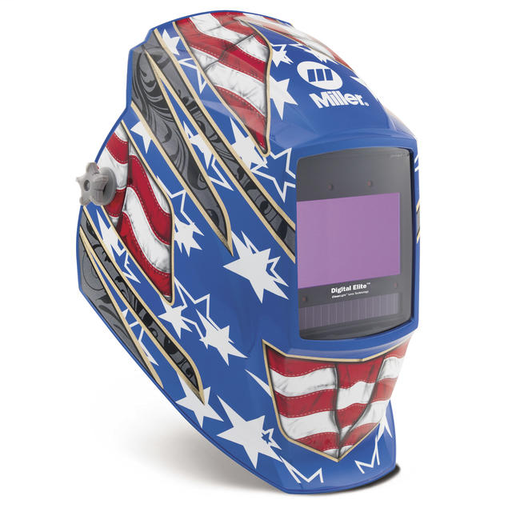 Digital Elite, Stars and Stripes III, Industry-leading helmet provides high-performance versatility – featuring ClearLight Lens Technology