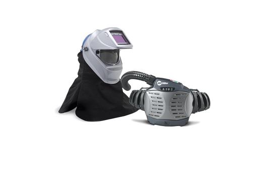 PAPR with Hard Hat & Titanium 9400i Helmet