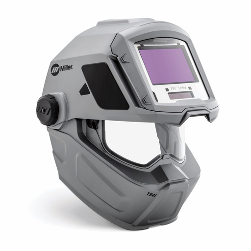 Miller T94I Silver Welding Helmet With Variable Shades 3/5 - 8/8 - 13 Clearlight Auto Darkening Lens