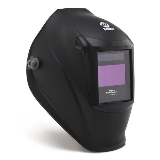 Miller Digital Performance Black Welding Helmet With Variable Shades 3, 5 - 13 ClearLight Lens Technology Auto Darkening Lens