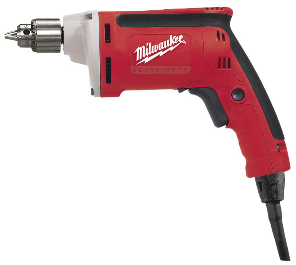 """Milwaukee 0101-20 1/4"""" 7 A Magnum® Drill 4000 RPM"""