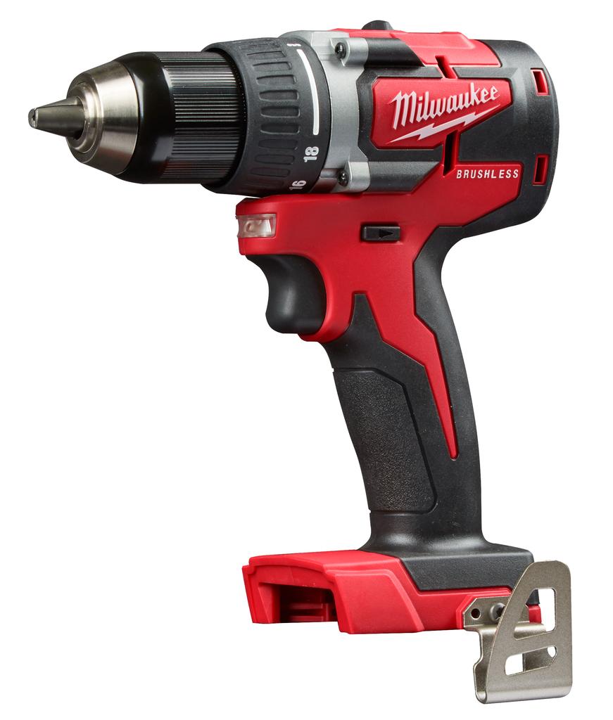 "Milwaukee 2801-20 M18™ Compact Brushless 1/2"" Drill Bare Tool"