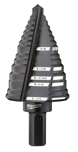 Mayer-#12 Step Drill Bit, 7/8 in. to 1-3/8 in.-1