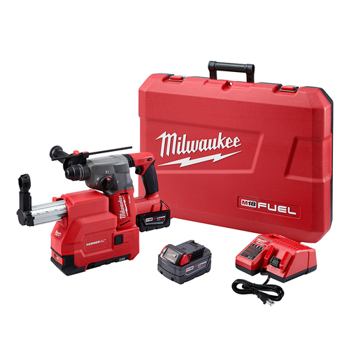 Mayer-M18 FUEL™ 1 in. SDS Plus Rotary Hammer & HAMMERVAC Dedicated Dust Extractor Kit-1