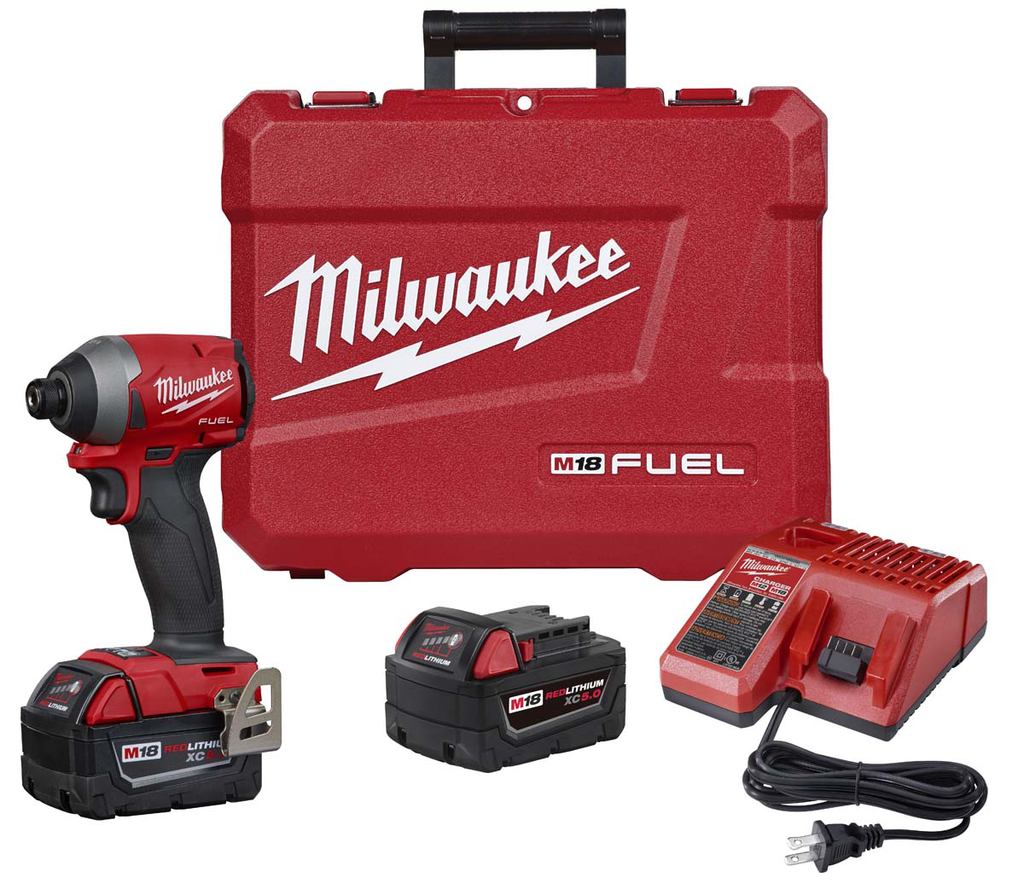 Mayer-M18 FUEL™ 1/4 in. Hex Impact Driver XC Kit-1