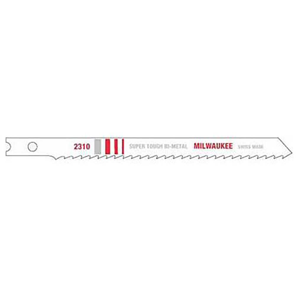 "Milwaukee 48-42-2310 4-1/8"" 10 TPI Bi-Metal Jig Saw Blade (5 Pack)"