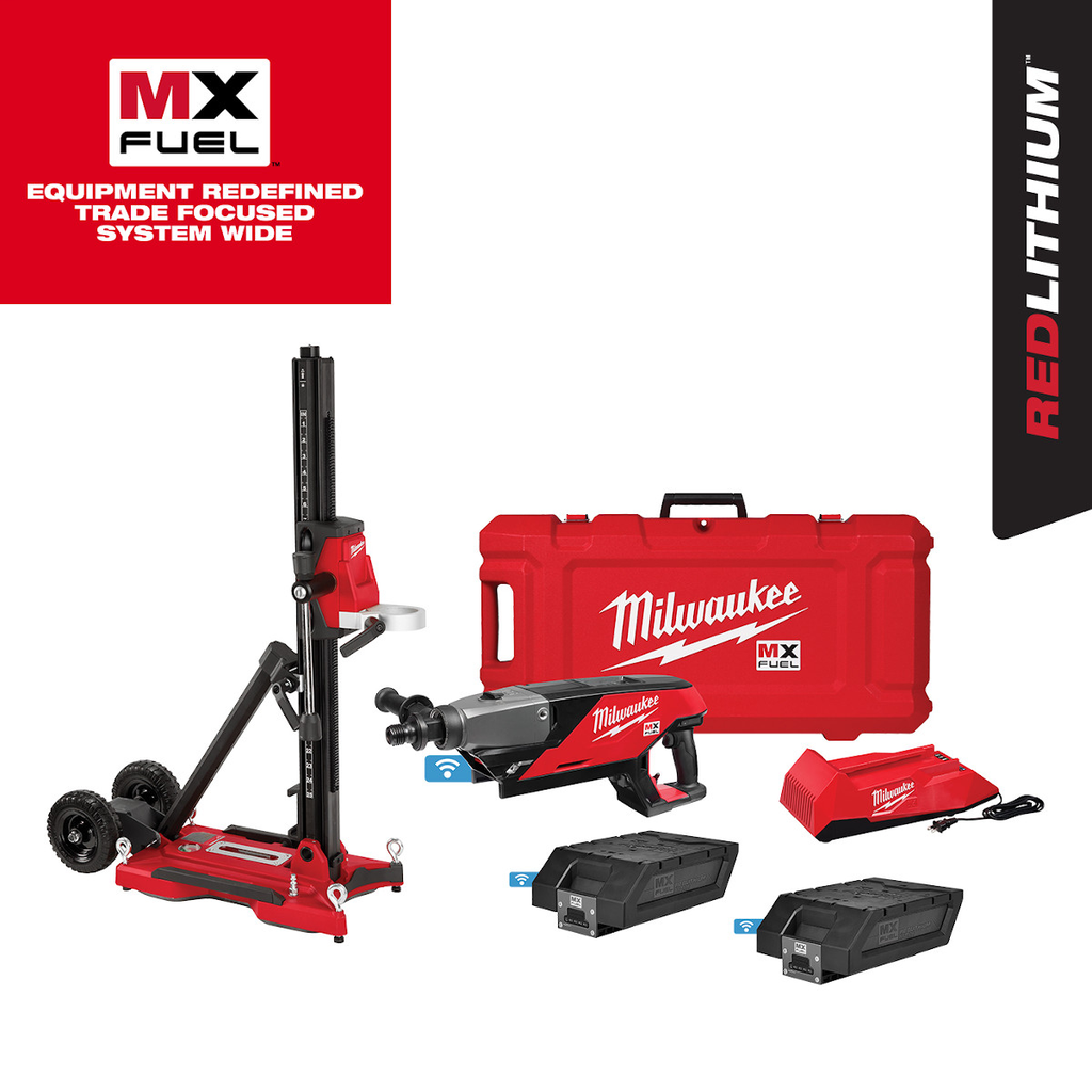 Mayer-MX FUEL™ Handheld Core Drill Kit w/ Stand-1