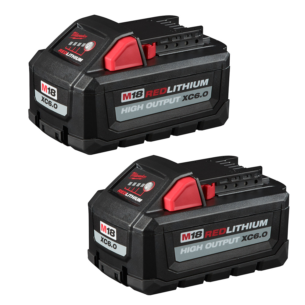 Mayer-M18™ REDLITHIUM™ HIGH OUTPUT™ XC 6.0Ah Battery Pack (2 Piece)-1