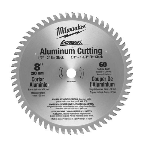 8 in. 60 Teeth Aluminum Circular Saw Blade