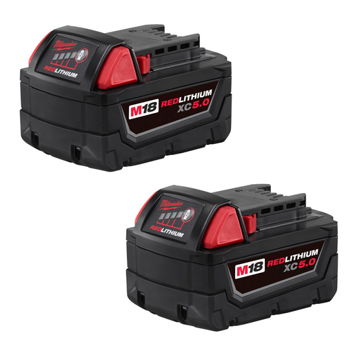 Mayer-M18™ REDLITHIUM™ XC 5.0Ah Extended Capacity Battery Pack (2 Piece)-1