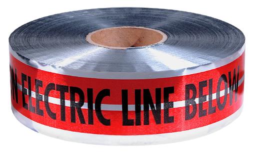 Mayer-MAGNATEC® Premium Detectable Tape-Electric Line-1