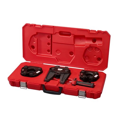 M18 18 Volt Lithium-Ion Cordless Force Logic SS Press Ring 1-1/2 in. to 2 in. Kit