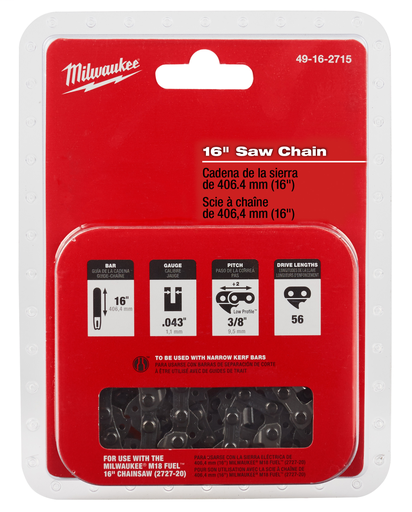 Mayer-16 in. Replacement Chainsaw Chain-1
