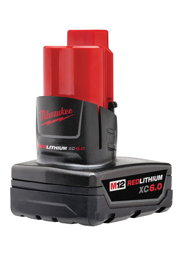 Mayer-M12™ REDLITHIUM™ XC 6.0Ah Extended Capacity Battery Pack-1