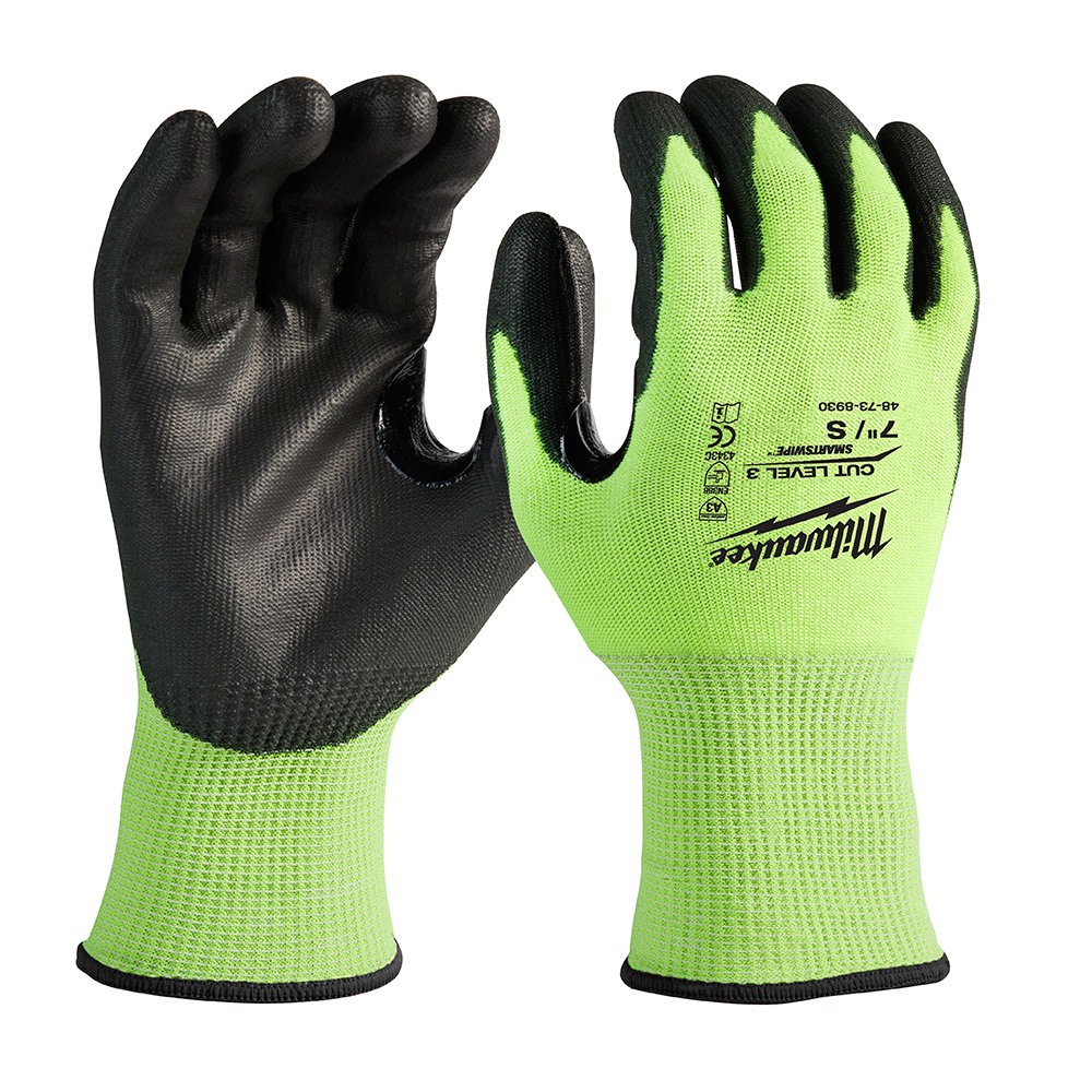 Mayer-High Visibility Cut Level 3 Polyurethane Dipped - S-1