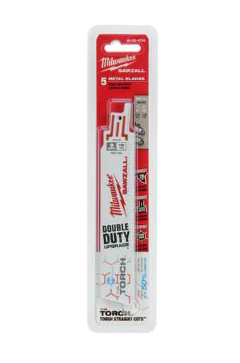6 in. 18 TPI THE TORCH™ Ice Hardened™ SAWZALL® Blades (5 Pack)