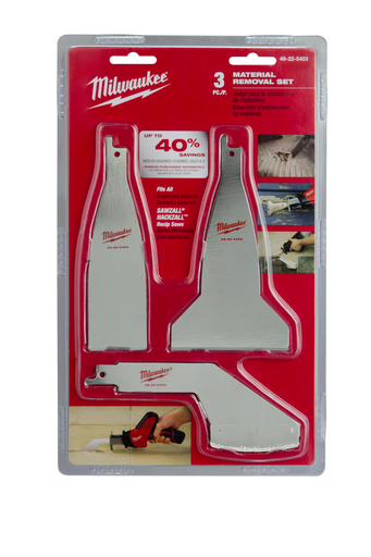 Material Removal Blade Set (3 Piece)