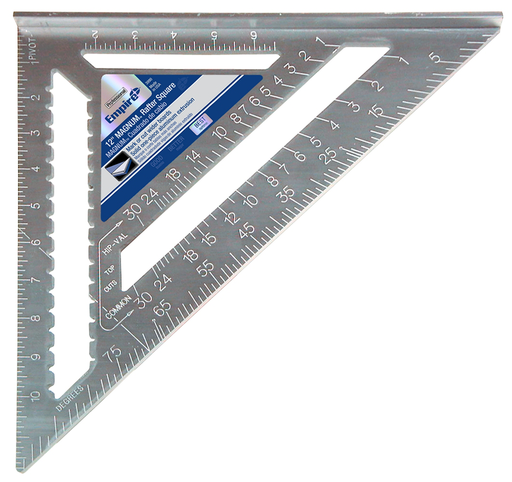 Magnum Rafter Square, 12 in. Marking and Layout Tool