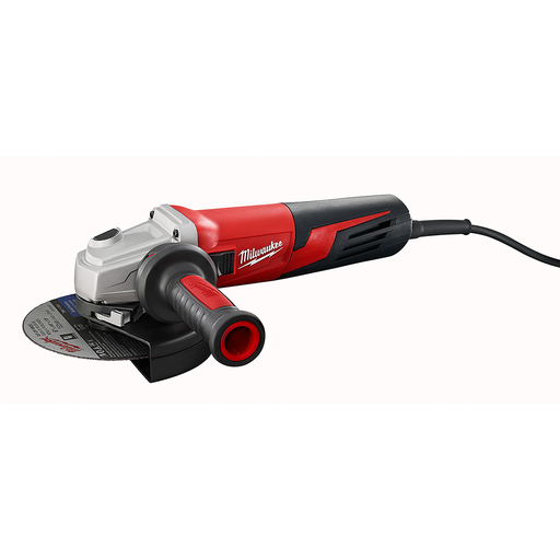 13 Amp 6 in. Small Angle Grinder Slide, Lock-On