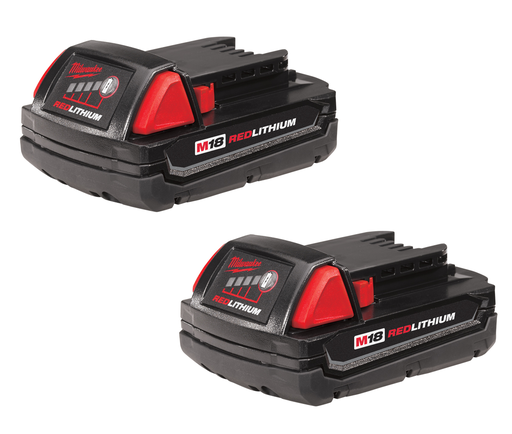 M18™ REDLITHIUM™ 1.5Ah Compact Battery (2 Piece)