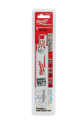 6 in. 14 TPI THE TORCH™ Ice Hardened™ SAWZALL® Blades (5 Pack)
