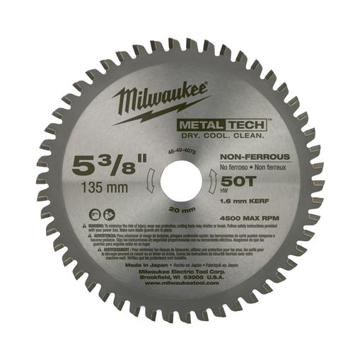 5-3/8 in. 50T Non-Ferrous Metal Circular Saw Blade