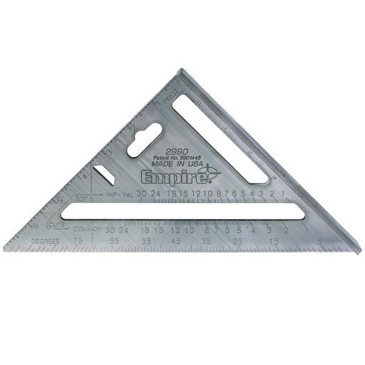 7 in. Magnum Fat Boy Aluminum Rafter Square