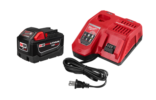M18™ REDLITHIUM™ HIGH DEMAND™ 9.0Ah Battery and Charger Starter Kit