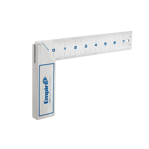 8 in. Heavy Duty Aluminum Try Square