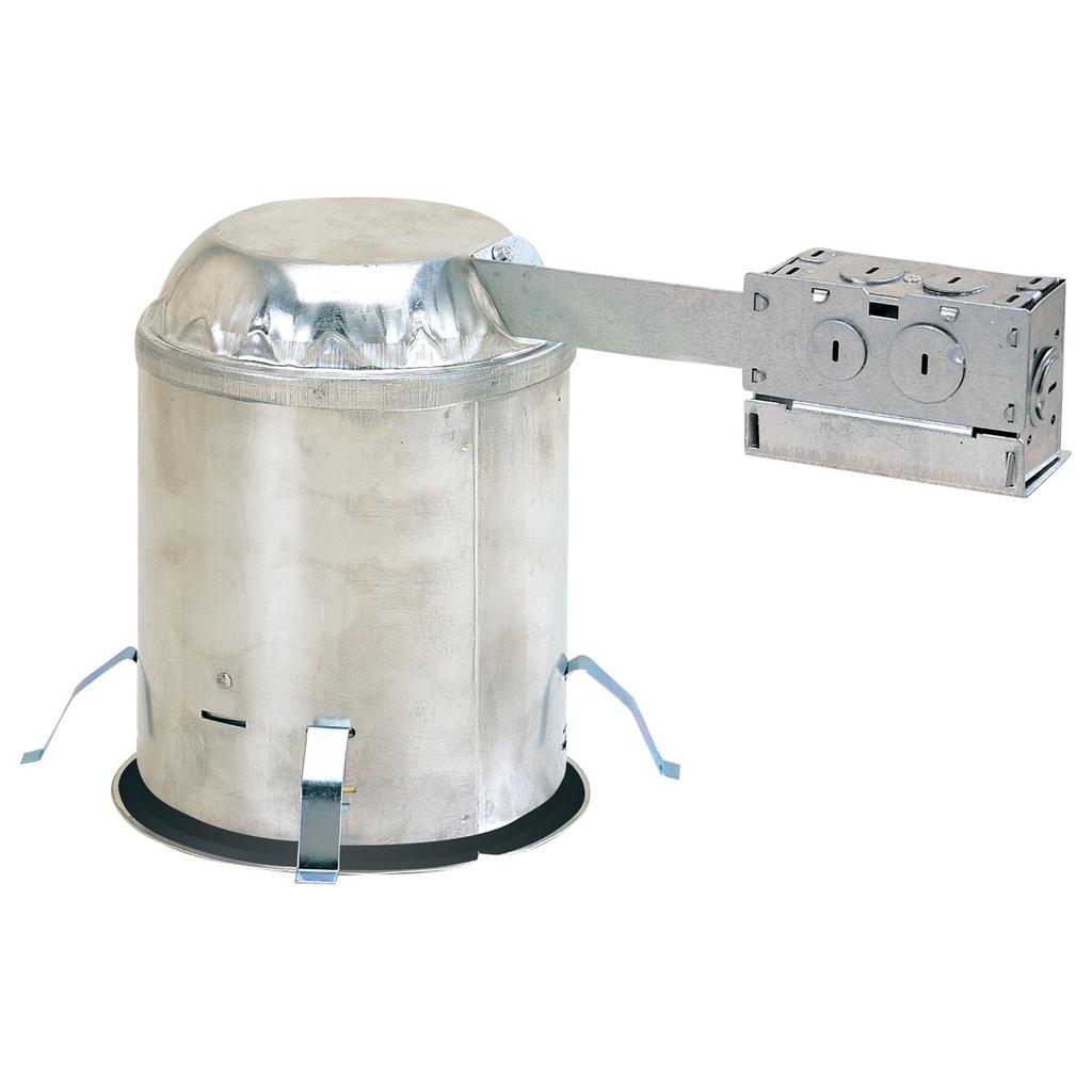 Nora Lighting NHRIC-504QAT 5 Inch Quick Connect Airtight IC Remodel Housing