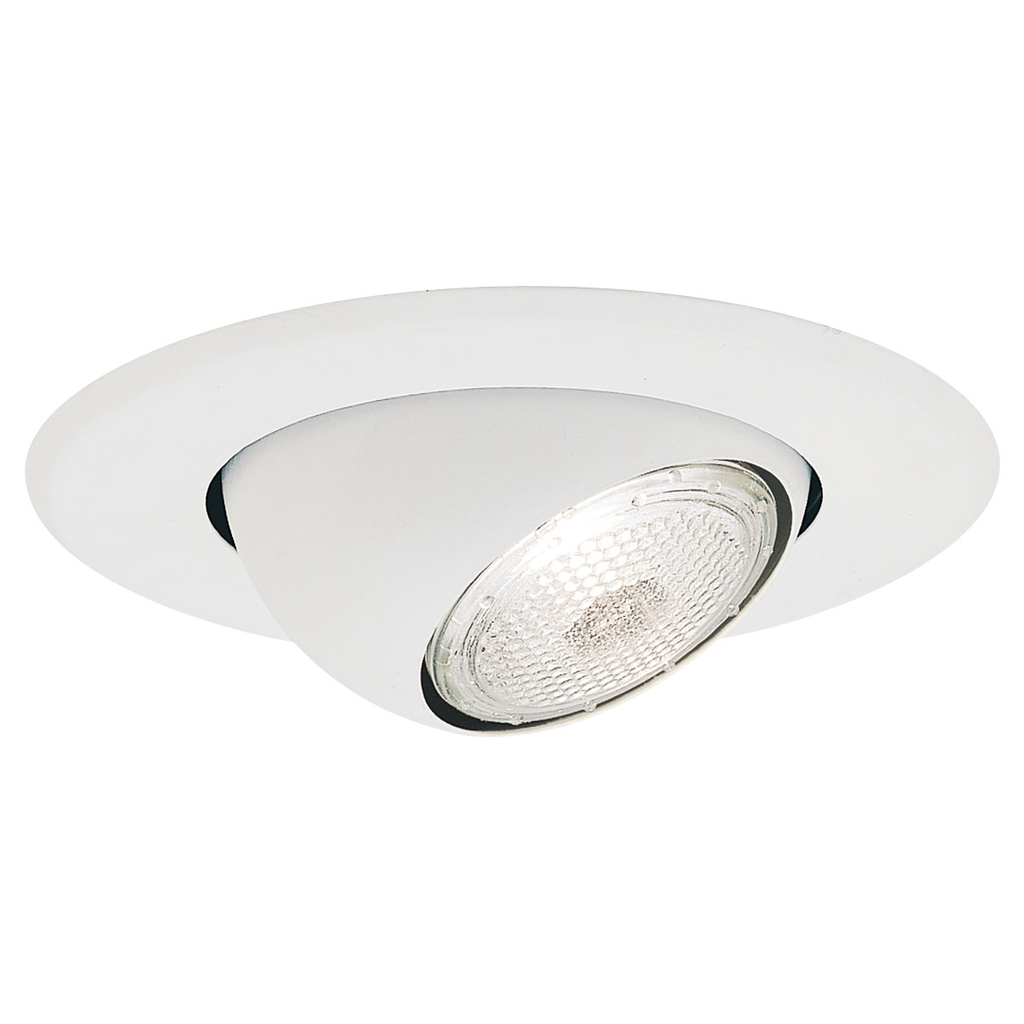 Nora Lighting NS-18 White Eyeball Trim