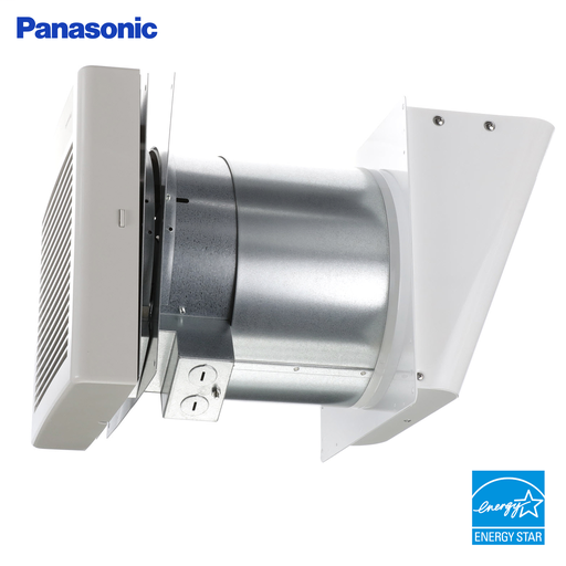 WhisperWall Ventilation Fan, Quiet Air Flow, Long Lasting, Easy to Install, Code Compliant, Energy Star Certified, White