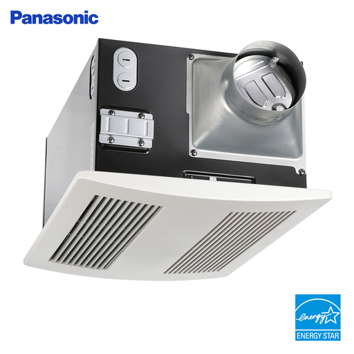 WhisperWarm Fan/Heater Combination, Ventilation Fan, Extremely Quiet, Long Lasting, Easy to Install, White