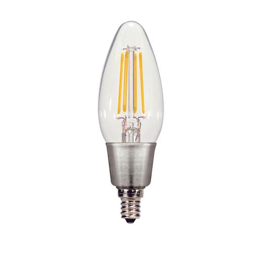 SATCO S29812 11W  A19 LED 4000K Medium Base 220/' Beam Spread 120V Dimmable