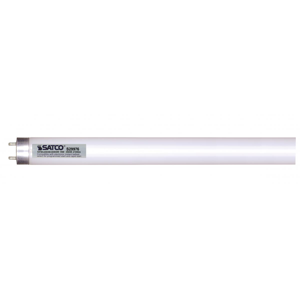 SATCO S29976 15T8/LED/48-835/DR
