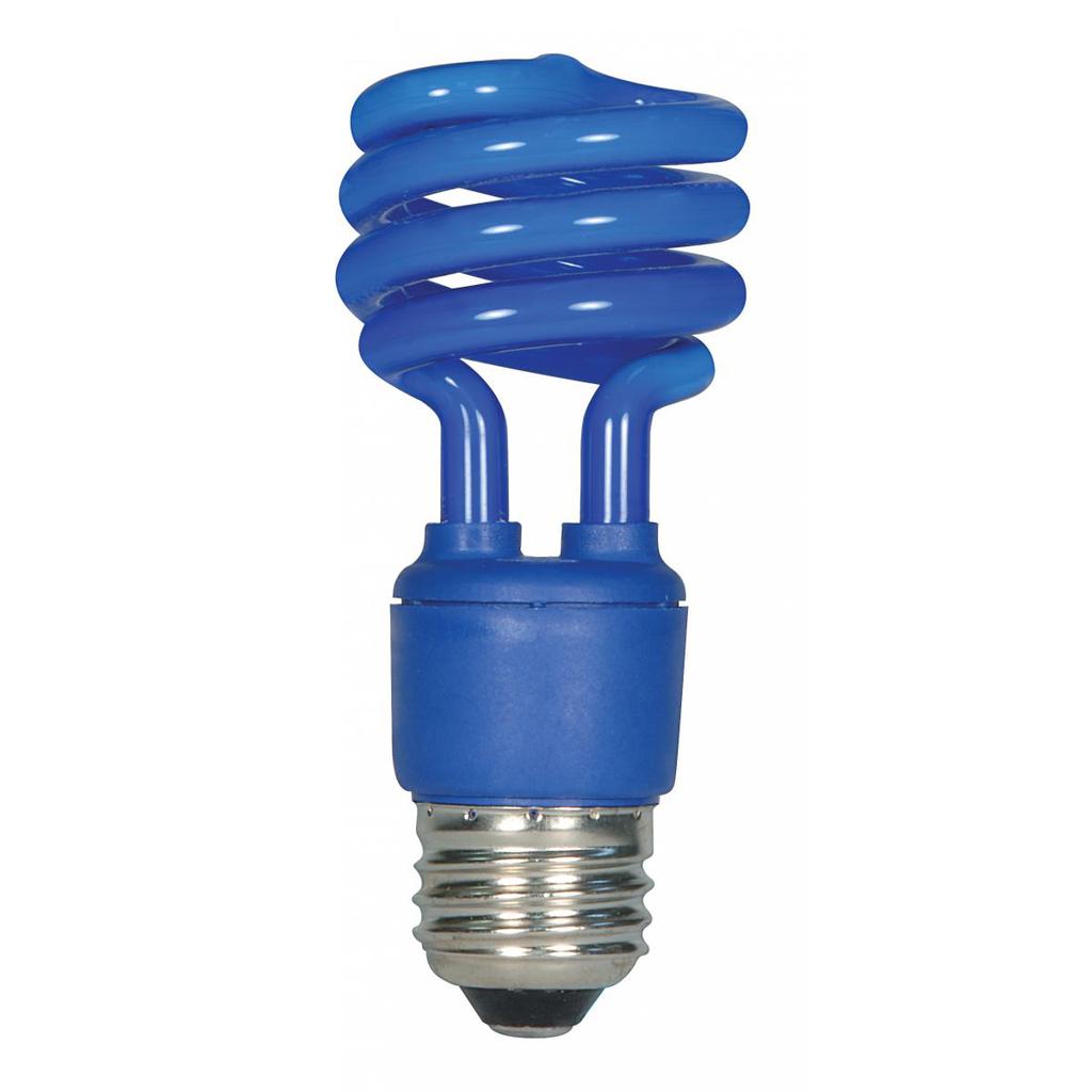 SATCO S7273 13T2/E26/BLUE/120V/1PK