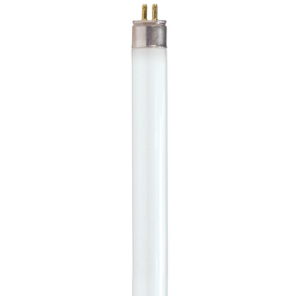 SATCO S8132 28 W 85 CRI 3500 K 2900 Lumen G5 Miniature Bi-Pin Base T5 Fluorescent Lamp