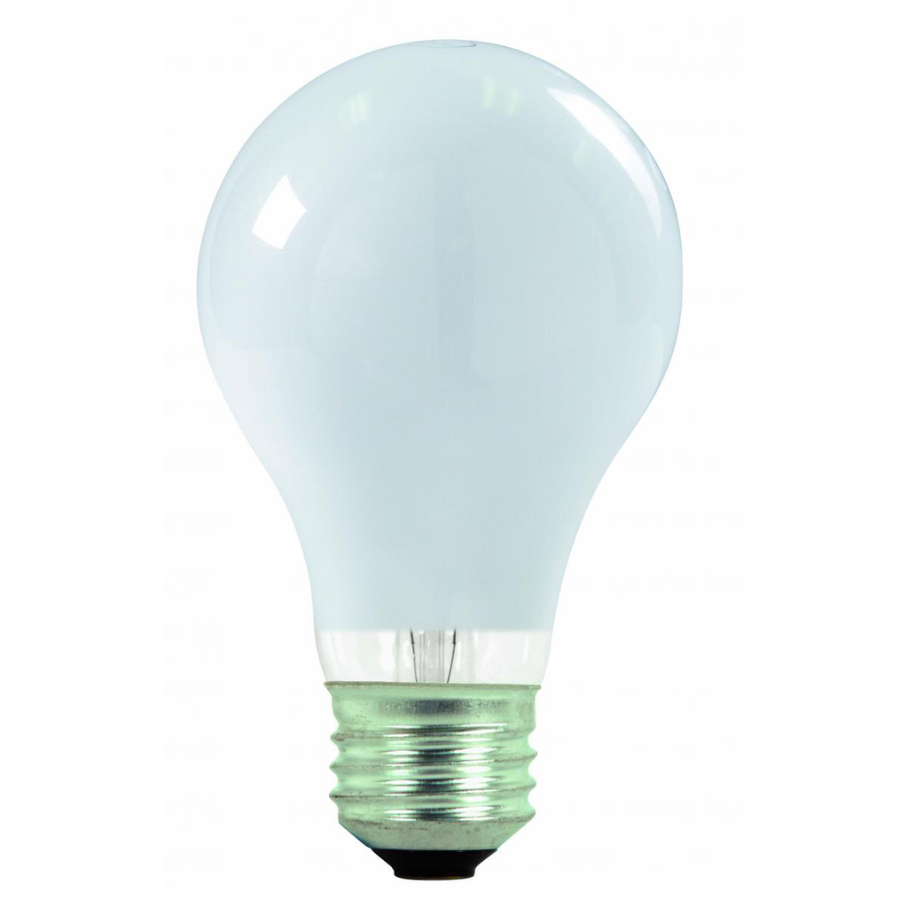 SATCO S2406 43 W 120 Volt 2900 K 750 Lumen E26 Medium Base A19 Halogen Lamp
