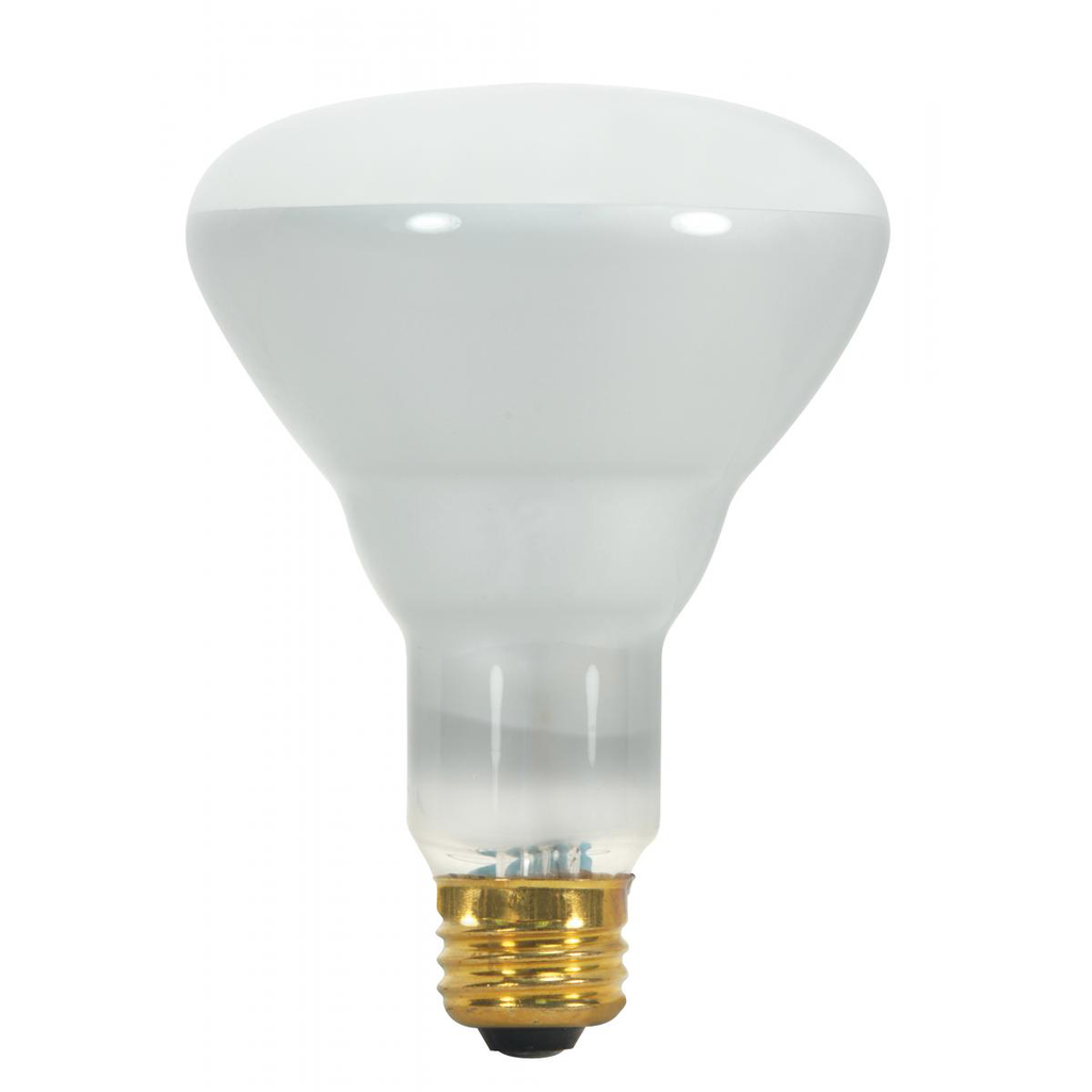 SATCO S8520 65 W 130 Volt 530 Lumen Frosted E26 Medium Base BR30 Reflector Incandescent Lamp