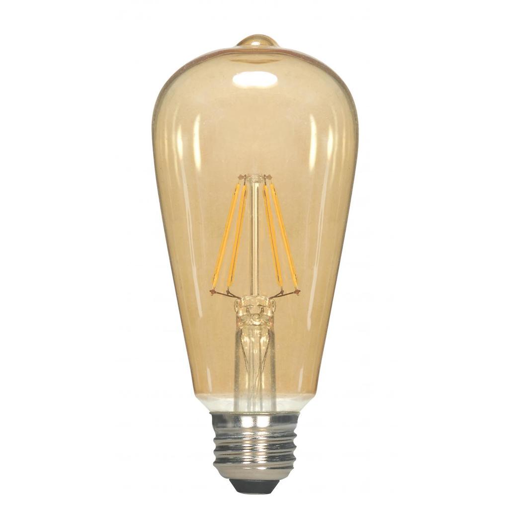 SATCO S9577 2.5ST19.AMB.LED.E26.23K