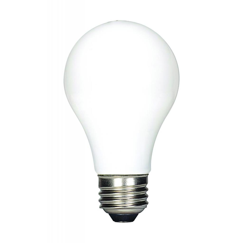 SAT S39809 7.5W LED A19; SOFTWHITE; MEDIUM BASE; 3000K; 120V