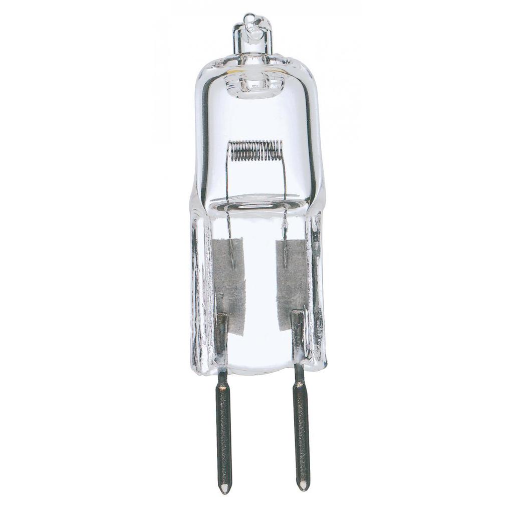 SATCO S3156 75 W 12 Volt 2900 K 1350 Lumen Clear Bi-Pin GY6.35 Base T4 Halogen Lamp
