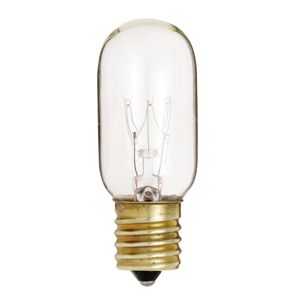 SATCO S3908 25 W T8 Clear 190 lumens Intermediate Base 130 Volt Incandescent Lamp